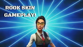 FORTNITE SEASON 10-ROOK SKIN GAMEPLAY 👻🔥