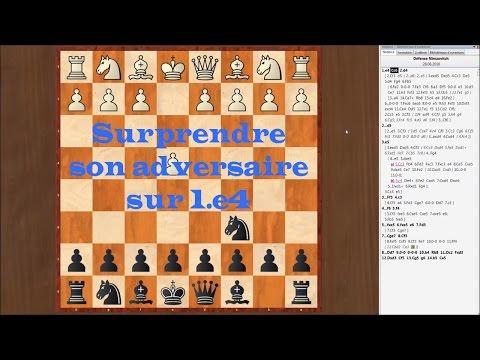 La Défense Nimzovitch aux échecs