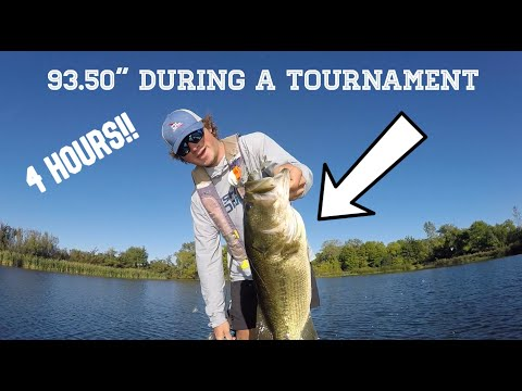 Big Bag Of Bass DURING A Tournament (Kayak Bass Fishing)