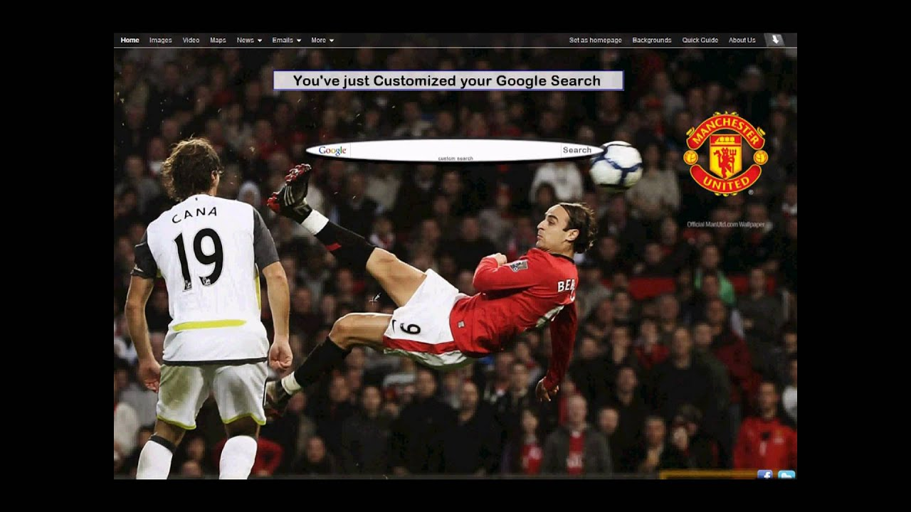 Google uk themes - How To Add Manchester United Themes To Your Google Search Http Www Uk Bqsearch Com