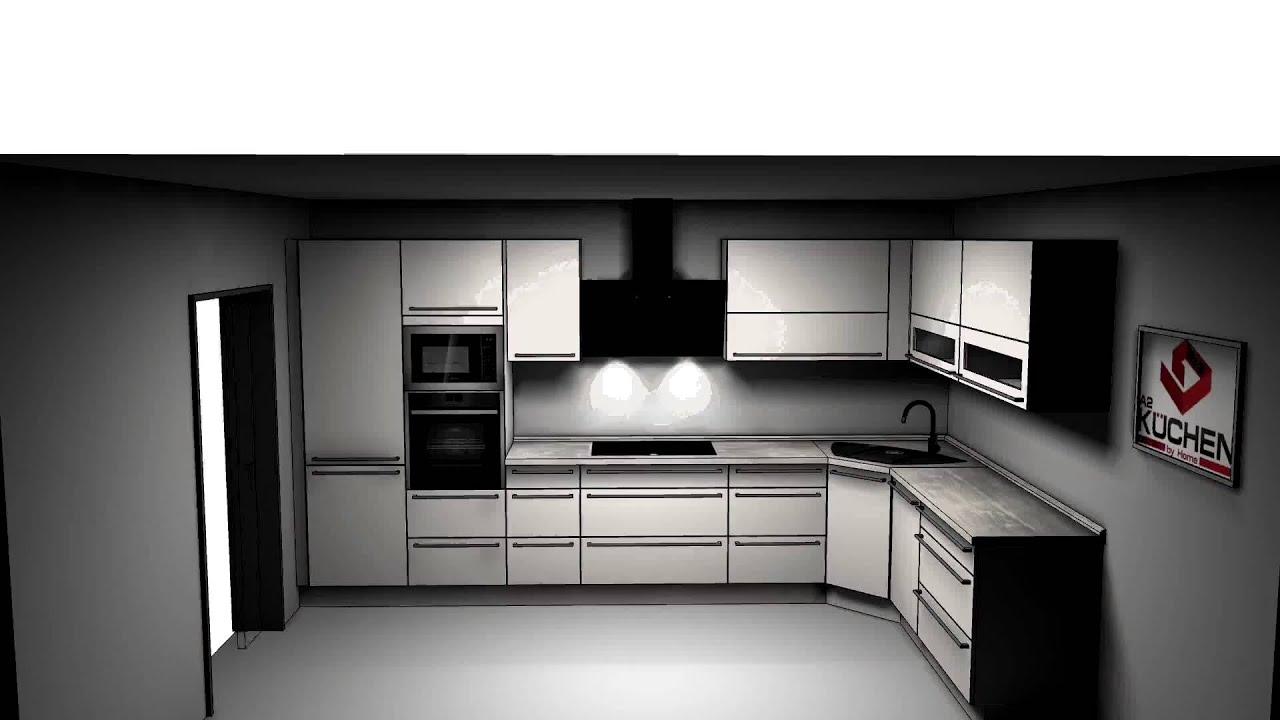 3d k chenplanung nolte k chen a2 k chencenter hannover altwarmb chen youtube. Black Bedroom Furniture Sets. Home Design Ideas