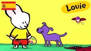Dibujos animados para niños - Louie dibujame un perro HD