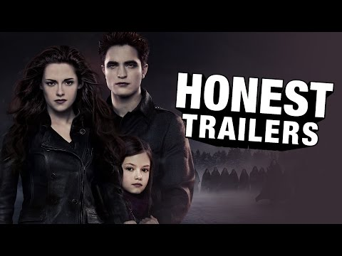 Honest Trailers - Twilight 4: Breaking Dawn poster