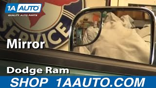 how to upgrade to tow mirrors 97 01 dodge ram part 2 1aauto com