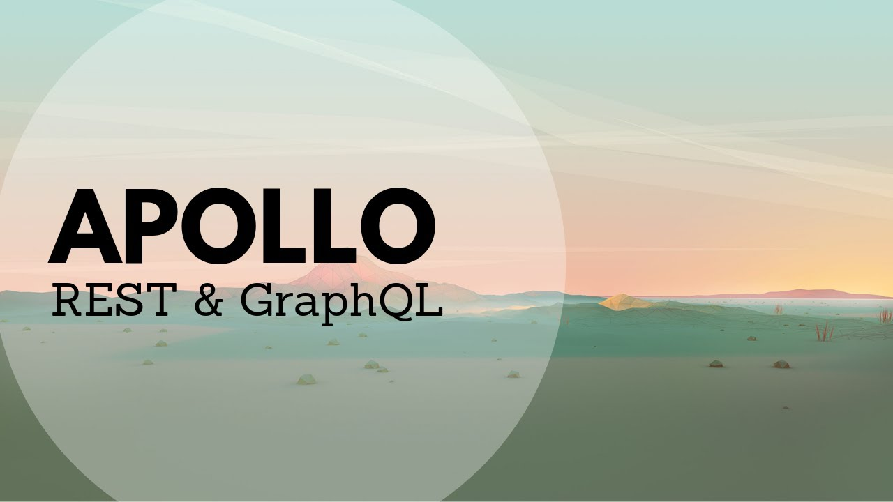 Using apollo-link-rest to use GraphQL with your RESTful endpoints
