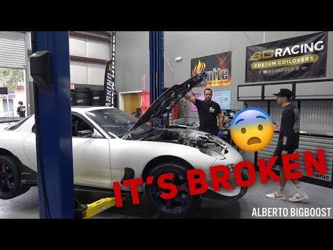FIXING TJ HUNT'S RX7!