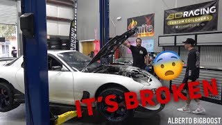 FIXING TJ HUNT'S RX7!