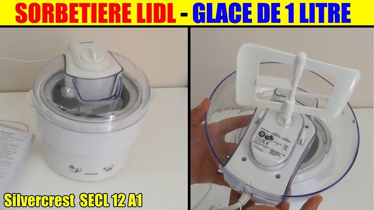 Favorito sorbetiere lidl silvercrest ice cream maker eismaschine heladera  WS79