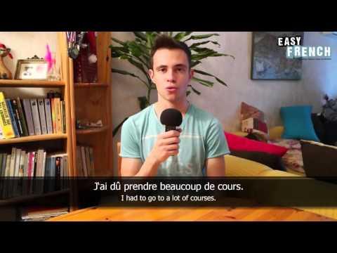 Tiếng Pháp bài 12