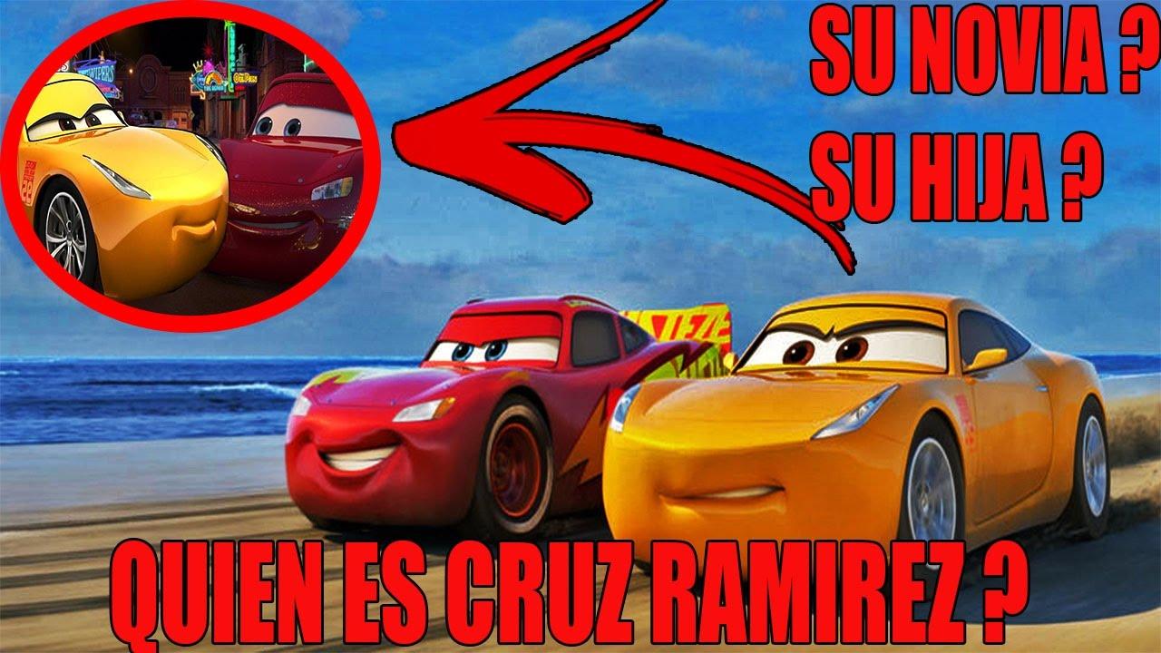 Cars 3 Cruz Ramirez La Nueva Novia Del Rayo Mcqueen