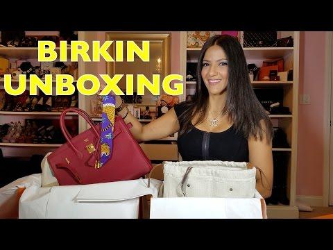 Hermes Birkin Unboxing – Haul from Paris