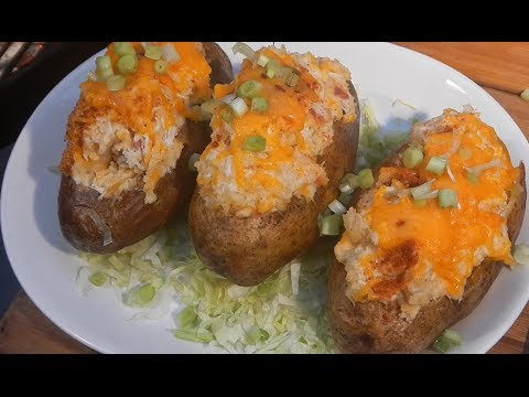 Cajun Crab Stuffed Potatoes