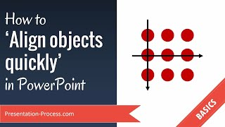 How to Align Objęcts Quickly in PowerPoint