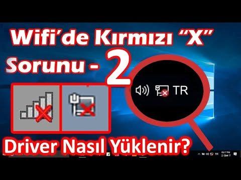 #2. WIFI BAGLANTI INTERNET SORUNU COZUMU (WIRELESS DRIVER)