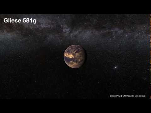 Approaching Gliese 581g