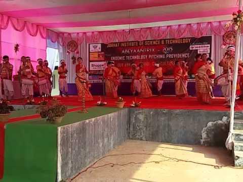 jorhat institute of science and technology bihu dance