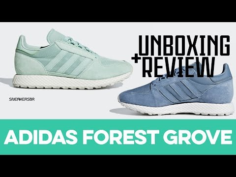 UNBOXING+REVIEW - adidas Forest Grove