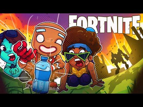 THE BEST BOTTLE FLIPPER EVER! - Fortnite Battle Royale