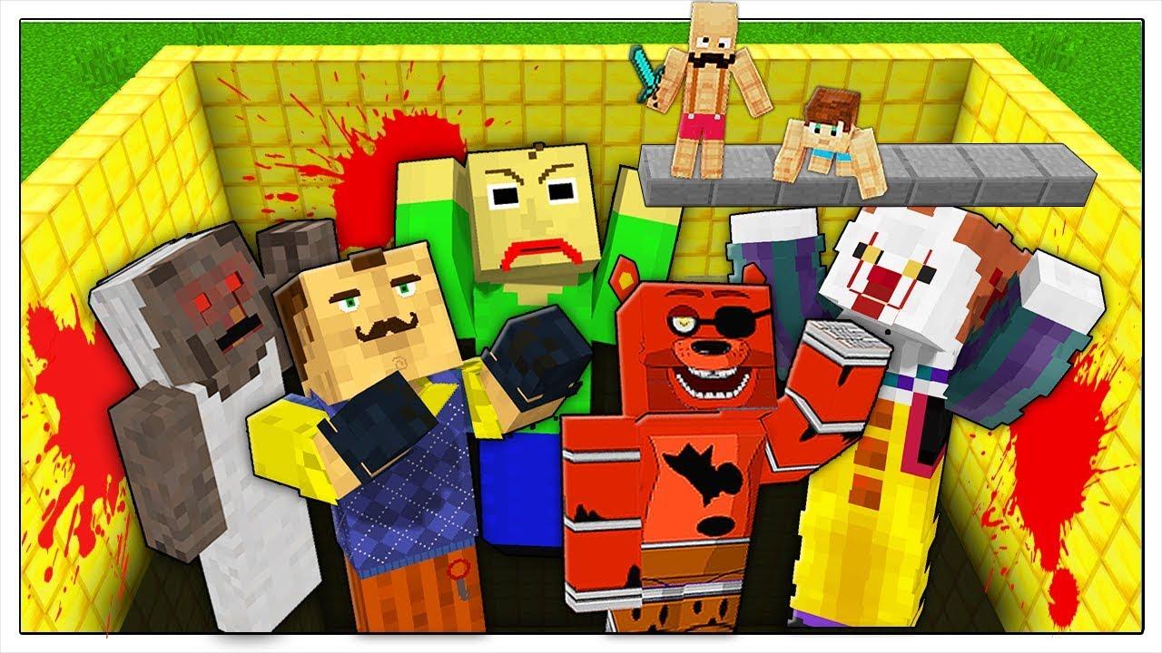 Download NON CADERE NELLA PISCINA DEI SUPERCATTIVI! - Minecraft ITA