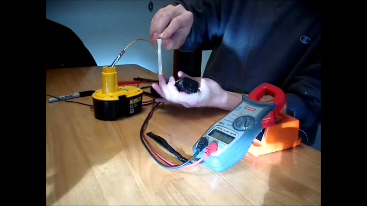 Ni-CD Battery fix for free