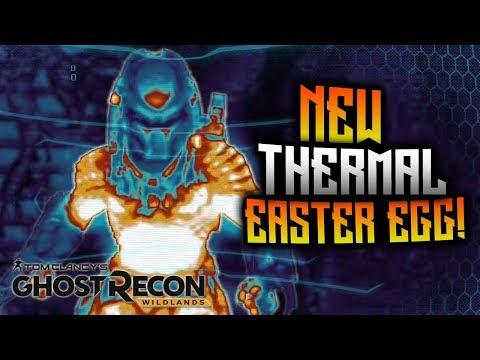 Ghost Recon Wildlands - NEW Thermal Easter Egg! Predator Legend