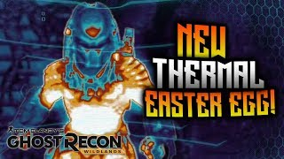 Ghost Recon Wildlands - NEW Thermal Easter Egg! Predator Legend