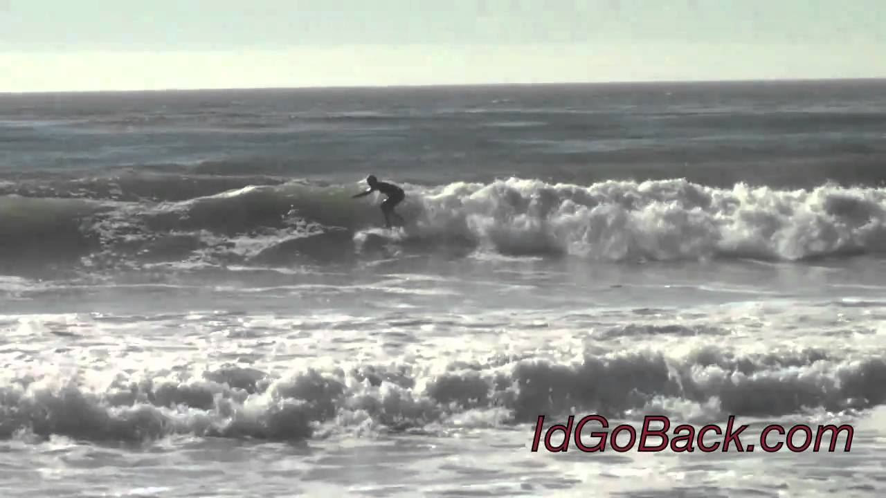 Surfing At Moonstone Beach Cambria Ca Idgoback