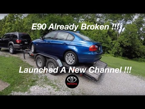 DIY Electric Water Pump On A BMW Xdrive 328xi How To Diagnose Pump Not Working