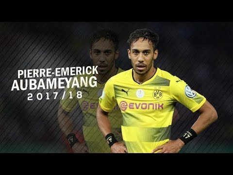 Pierre-Emerick Aubameyang INSANE SPEED - skills & goals 2017/18