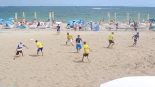 Ракеты - Nova. Пляжный Чемпионат Украины по алтимат фризби 2016