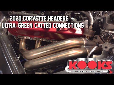 Kooks Headers And Exhaust 2020 C8 Corvette