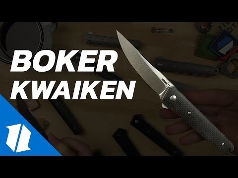 10 Boker Kwaiken EDC Knives | The Knife Table Ep.1