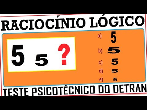 Raciocínio Lógico Figuras imagem Teste psicotécnico QI Quociente de Inteligência Detran Concurso RLM from YouTube · Duration:  2 minutes 25 seconds