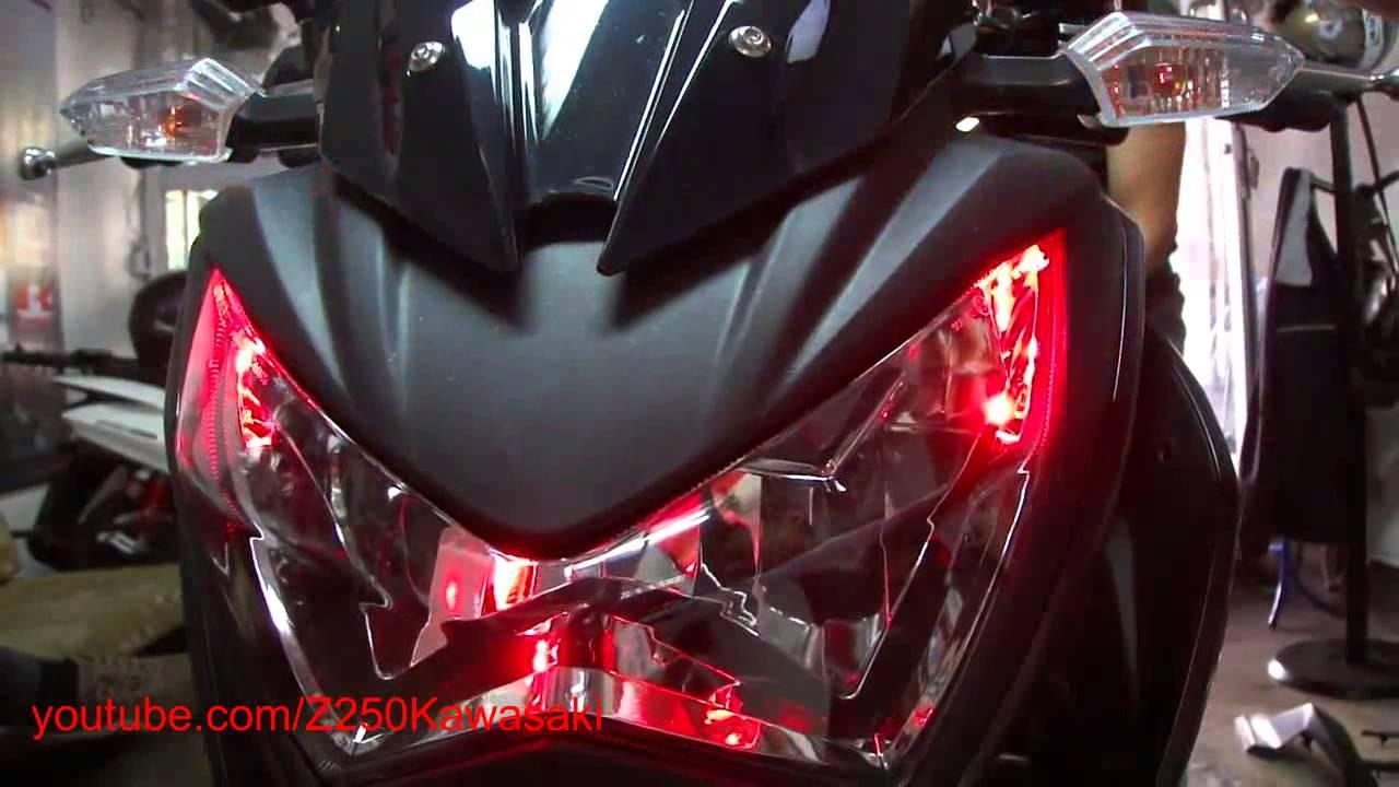 Variasi Motor Kawasaki Z 250  tahun ini