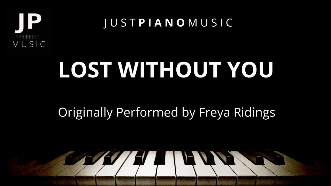 Lost Without You (Piano Accompaniment) Freya Ridings image