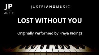 Lost Without You (Piano Accompaniment) Freya Ridings Video