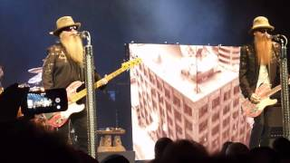 ZZ Top - Got Me Under Pressure -  Live in Hamilton March 5th 2015