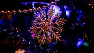 Christmas Tree Decorations and Lights Video & Music Jingle Bells