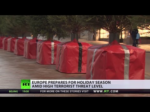 Present threat: Concrete blocks turn into Xmas gifts amid holiday terrorism fears in Europe