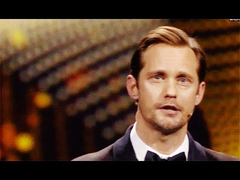 Alexander Skarsgård At The European Film Awards In Berlin Dec 12, 2015