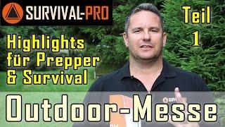 Outdoormesse Friedrichshafen Highlights für Prepper/ Survival Teil 1 v. 2