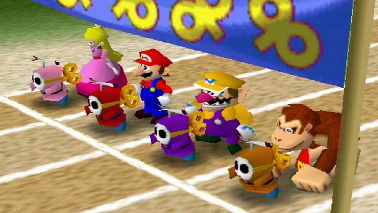 Mario Party 2 - Mini-Game Coaster (Hard) - YouTube