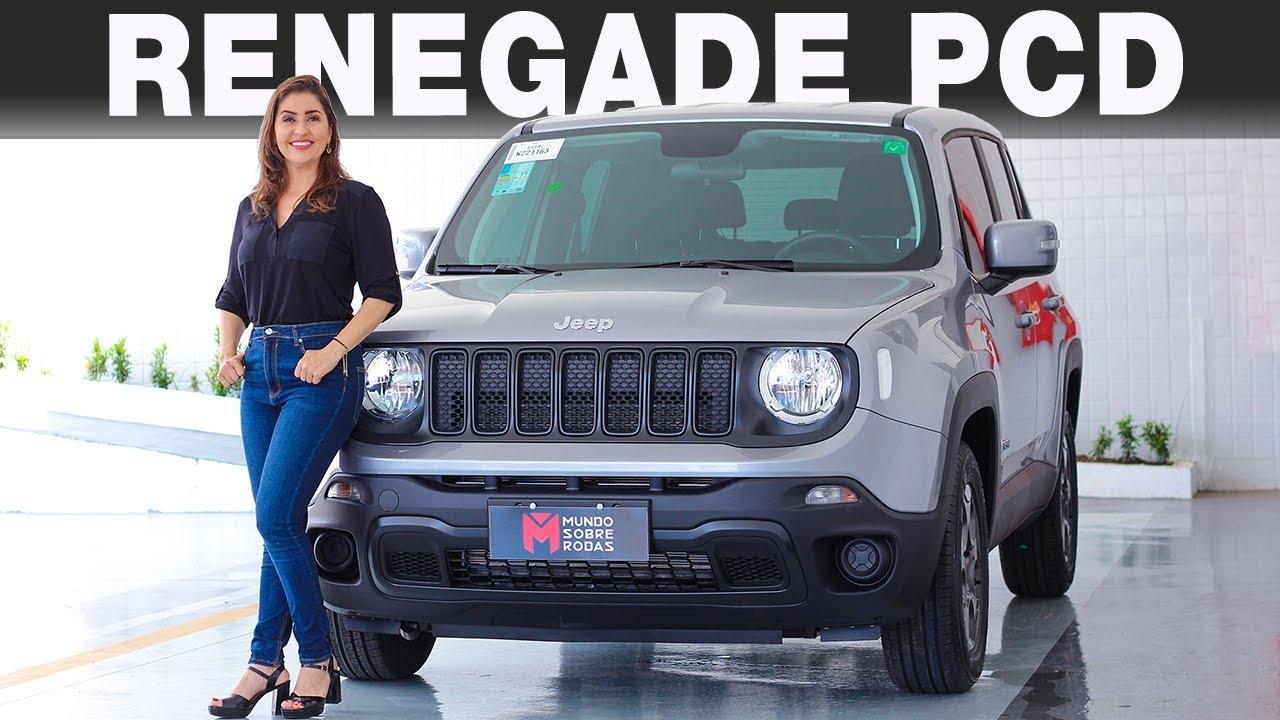 Jeep Renegade PCD 2019 em Detalhes com Giu Brandão - YouTube