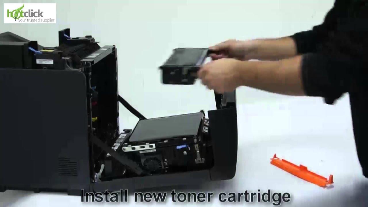 dell 3110cn toner cartridge replacement user guide 593 10169 6 7 8 rh youtube com Dell Printers Dell 3110 Toner Cartridges
