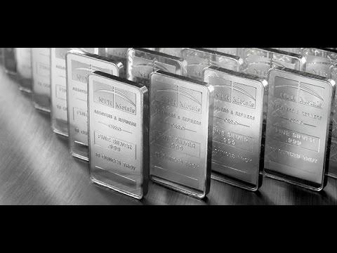 Производство серебра. Металлы - серебро