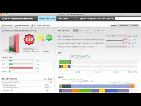 VMware vCenter Operations -- Video Tutorial