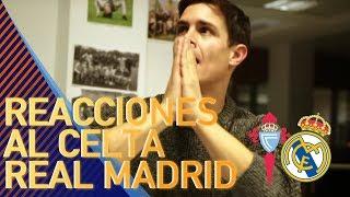 Así VIBRÓ EDU AGUIRRE con el Celta 2-4 Real Madrid | REACCIONES