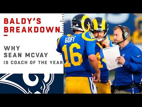 Why Sean McVay is the Coach of the Year | NFL Film Review