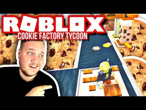 MIN HELT EGEN SMÅKAGE FABRIK! :: Roblox Cookie Factory Tycoon Dansk