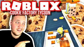 MY VERY OWN COOKIE FACTORY! :: Roblox Cookie Factory Tycoon english